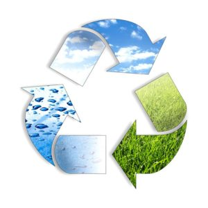 voda, vazduh, zemlja eco-system-recycle-icon